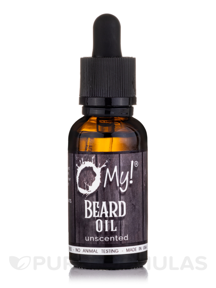 Beard Oil, Unscented - 1 fl. oz