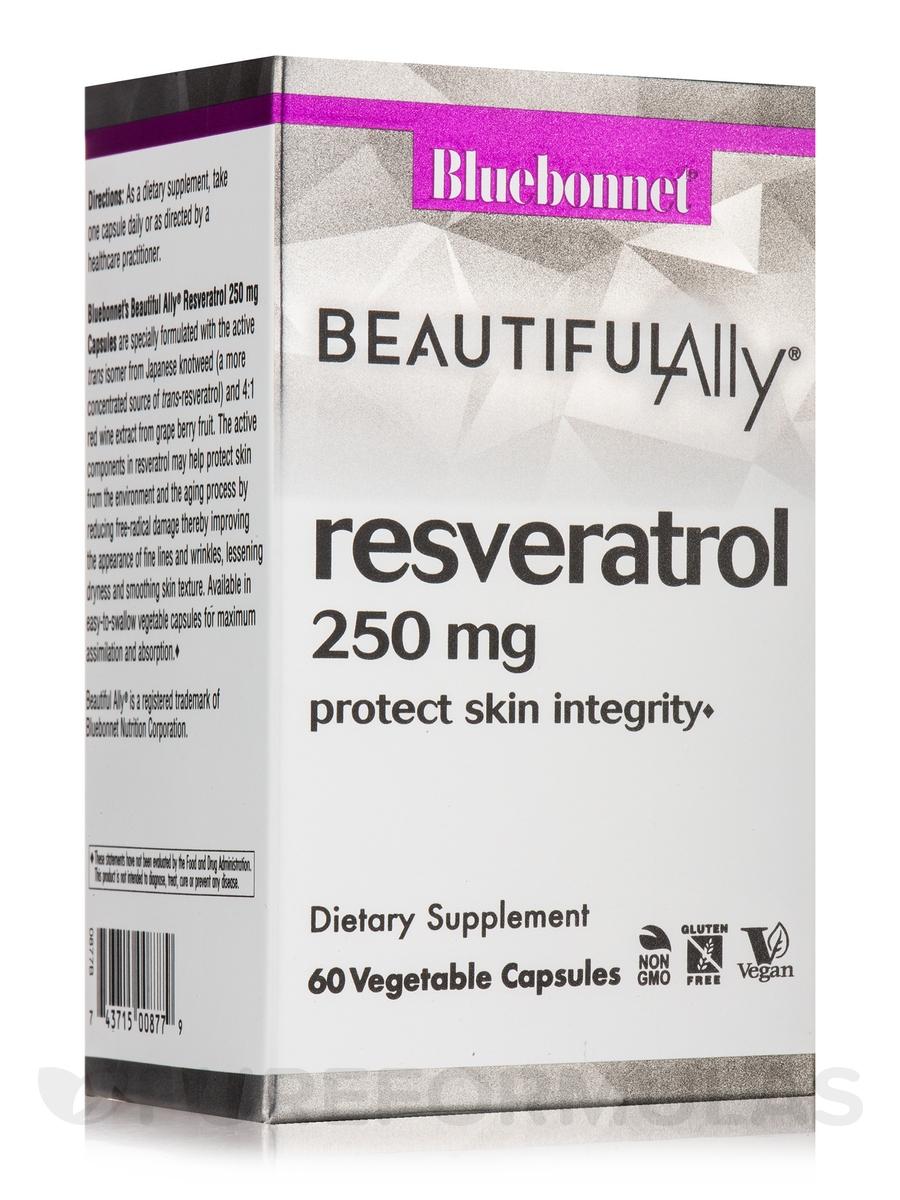 Resveratrol 250 mg - 60 Vegetable Capsules