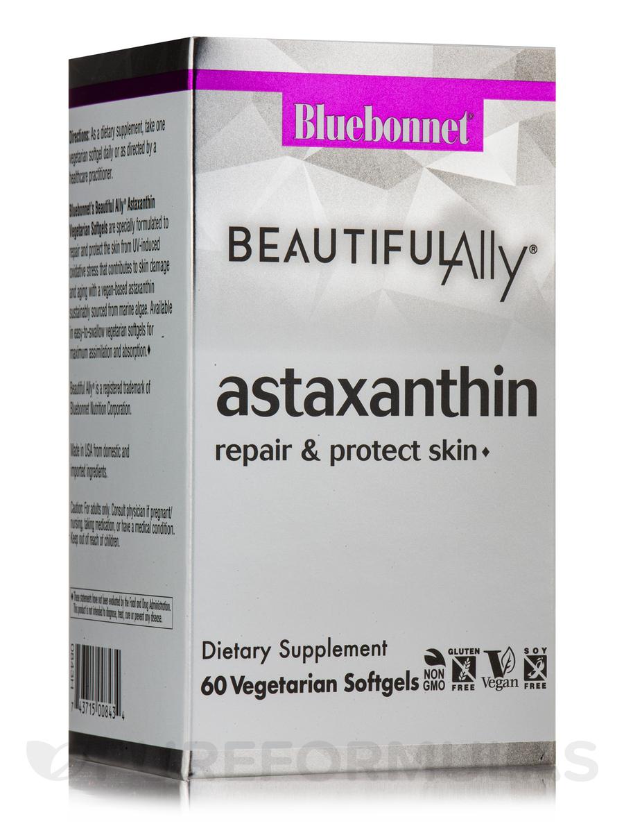 BeautifulAlly® Astaxanthin - 60 Vegetable Capsules