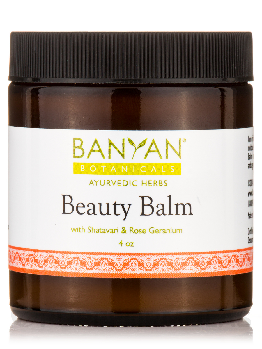 Beauty Balm with Shatavari & Rose Geranium, Organic - 4 oz