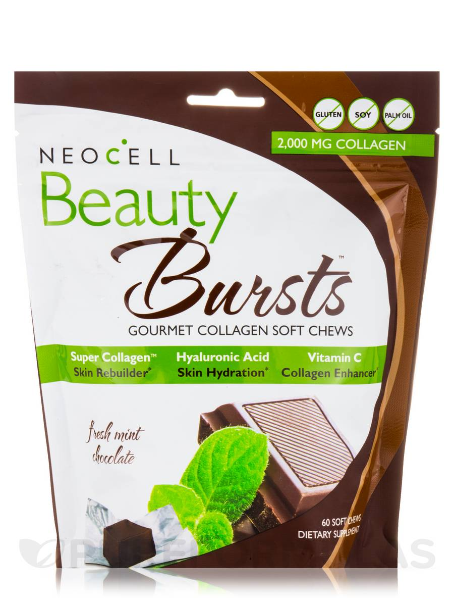 Beauty Burst Chocolate Mint - 60 Soft Chews