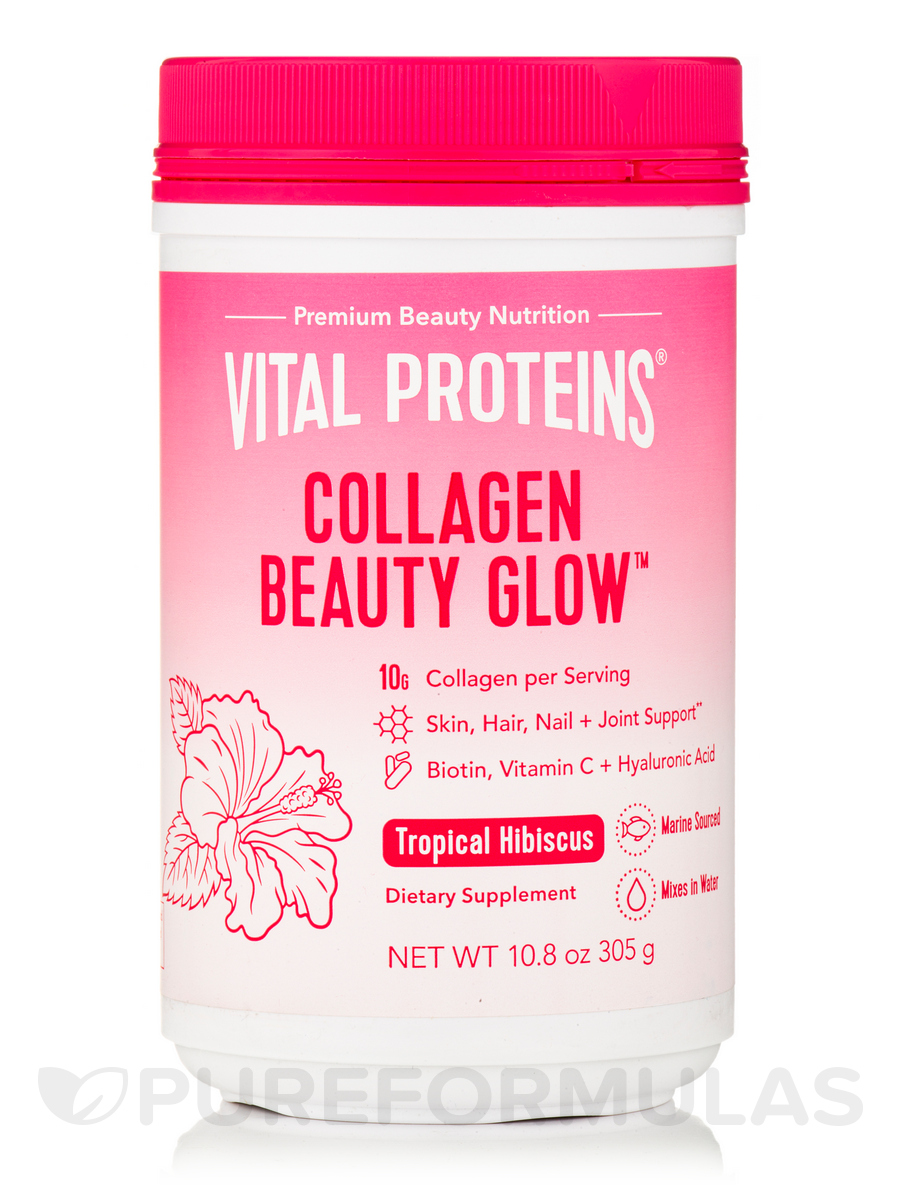 Beauty Collagen™, Tropical Hibiscus - 11.5 oz (325 Grams)