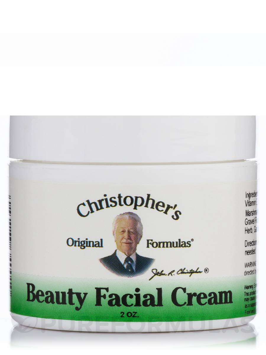Beauty Facial Cream - 2 oz