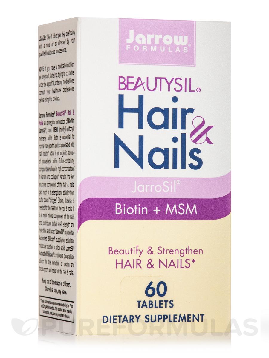 BeautySil® Hair & Nails - 60 Tablets