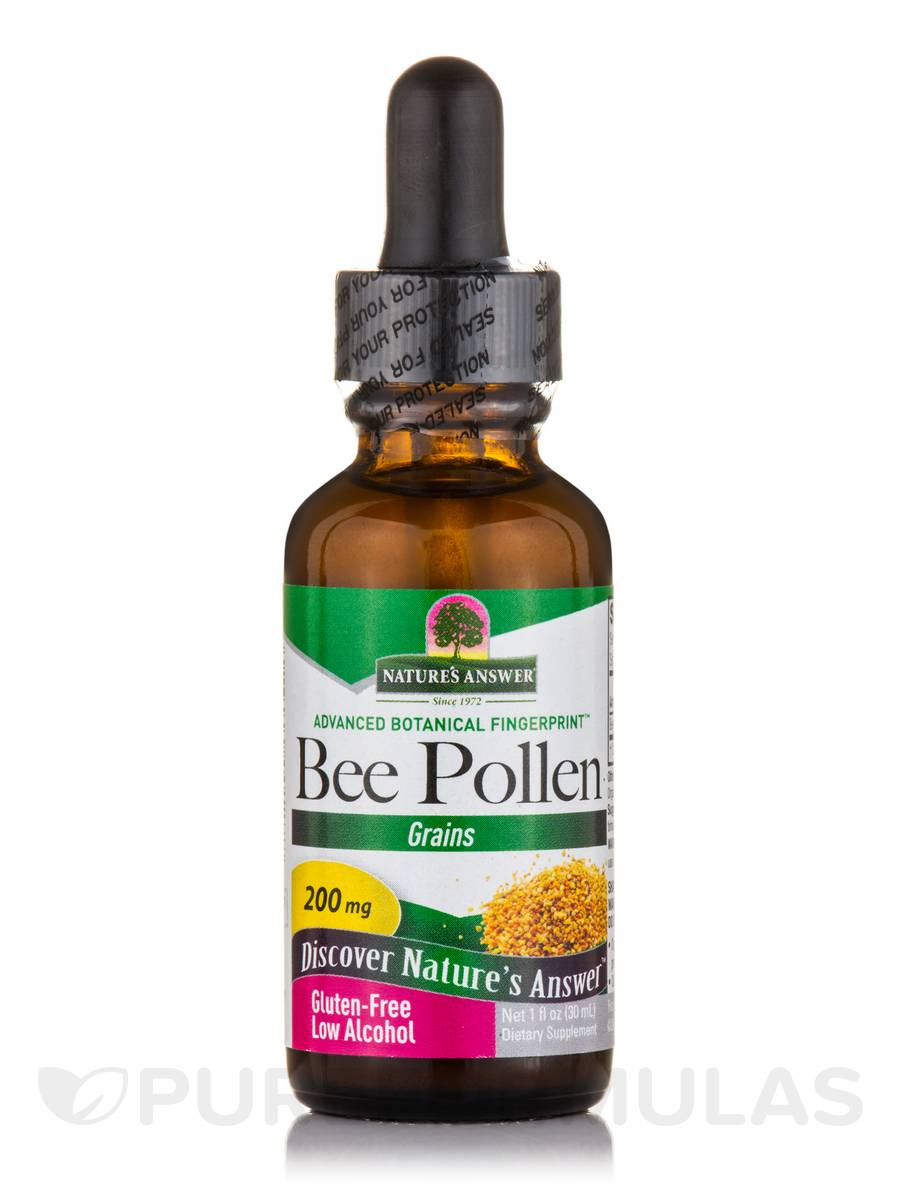 Bee Pollen Grains 200 mg - 1 fl. oz (30 ml)