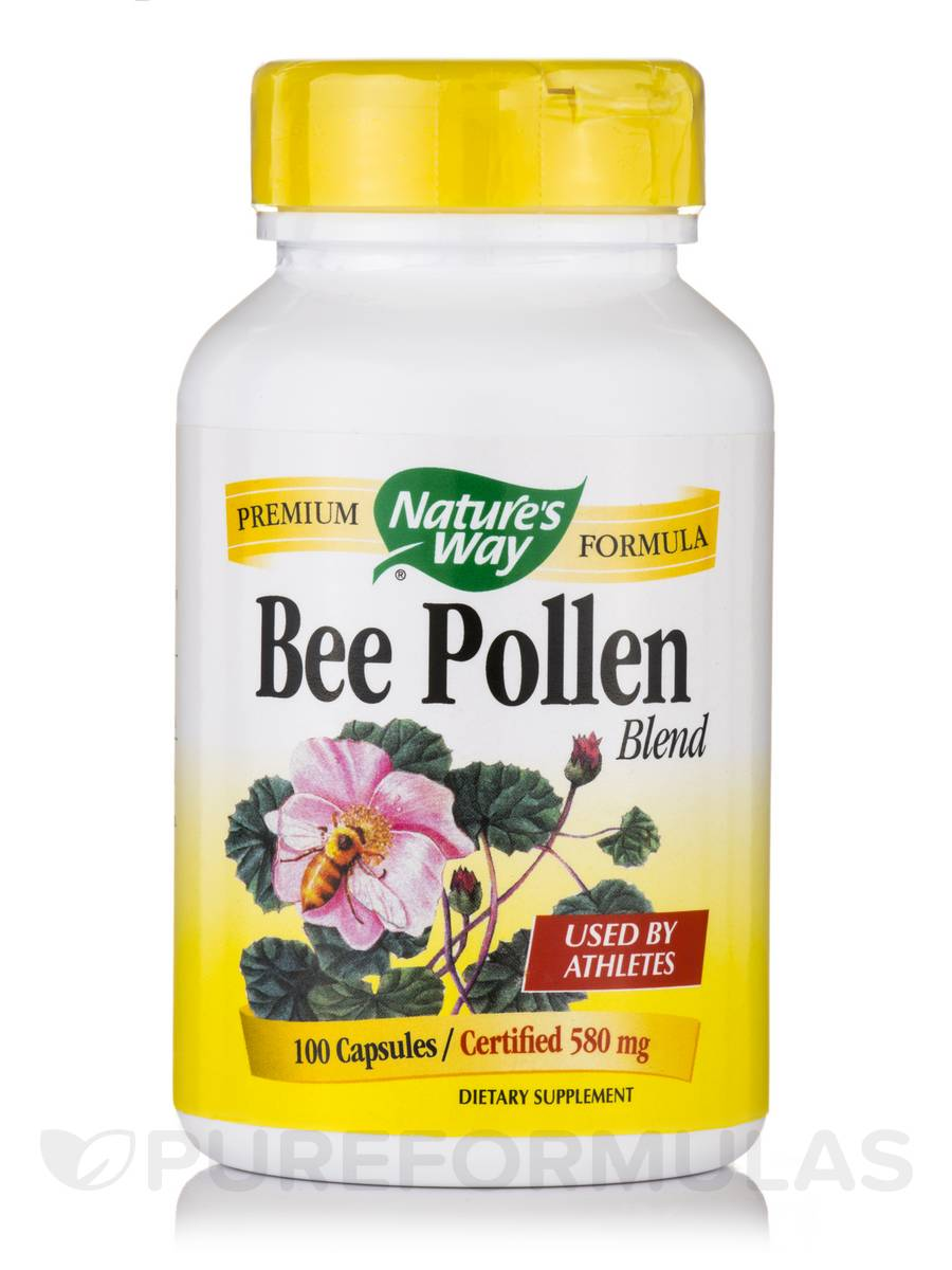Bee Pollen Blend 580 mg - 100 Capsules