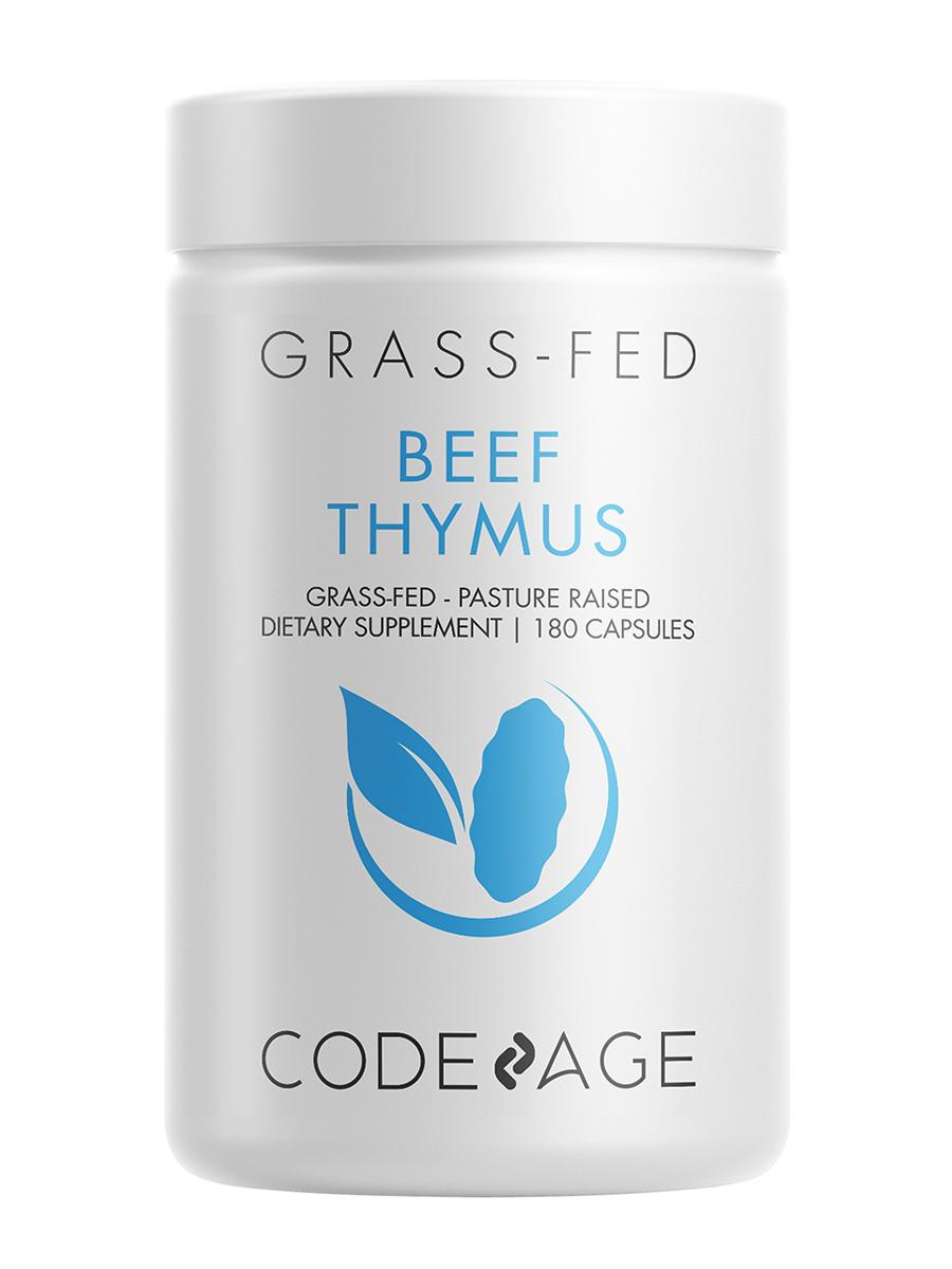 Beef Thymus - 180 Capsules