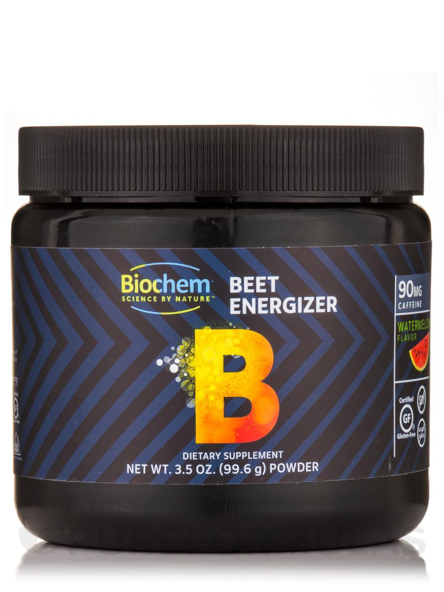 Beet Energizer Powder, Watermelon Flavor - 3.5 oz (99.6 Grams)