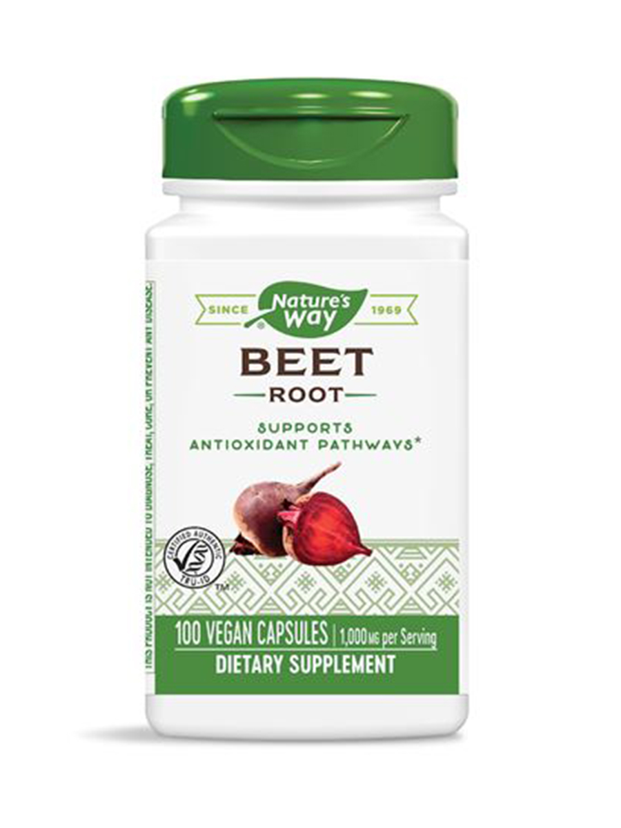 Beet Root Beta Vulgaris 500 mg - 100 Capsules