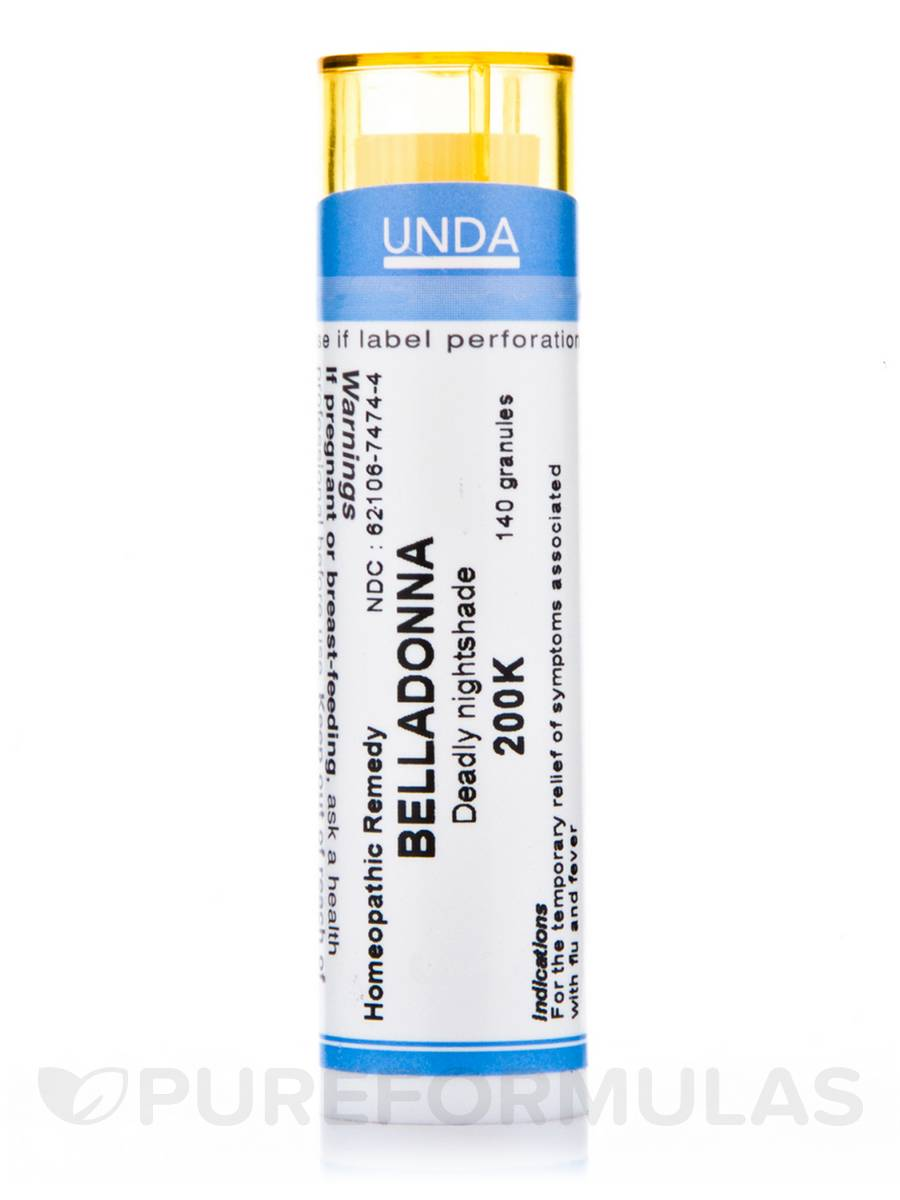Belladonna 200K - 140 Granules (5.5g)