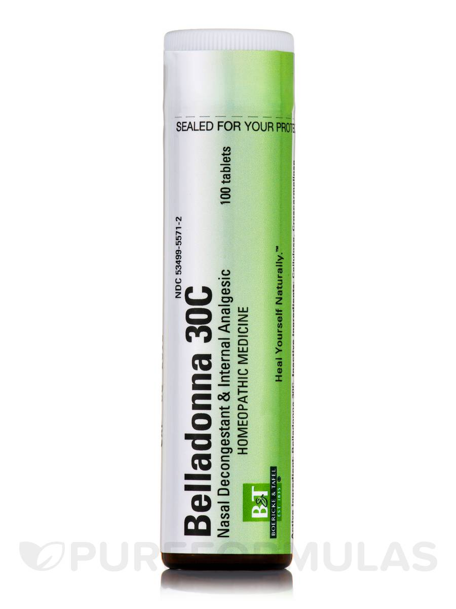 Belladonna 30C - 100 Tablets