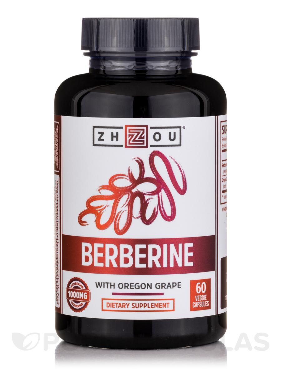 Berberine 1000 mg - 60 Veggie Capsules