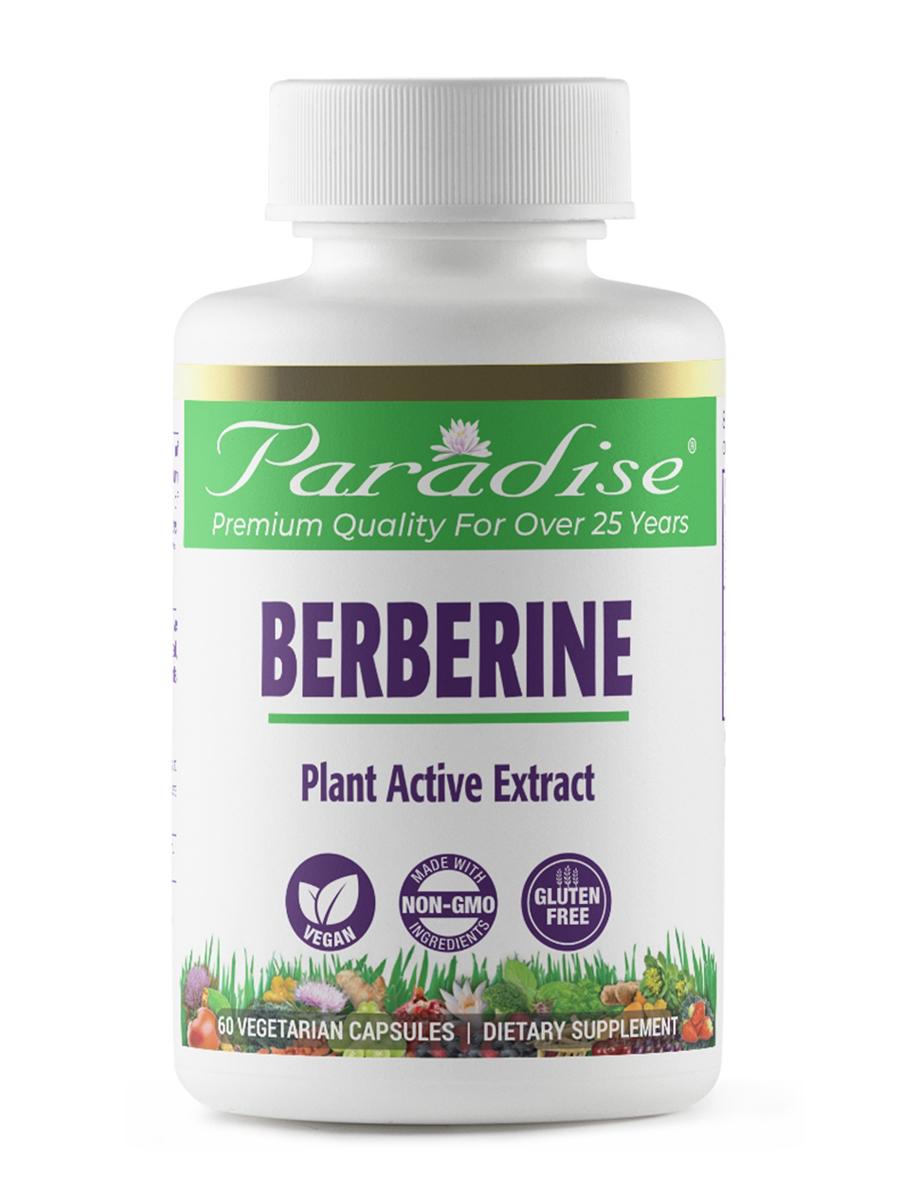 Berberine - 180 Vegetarian Capsules
