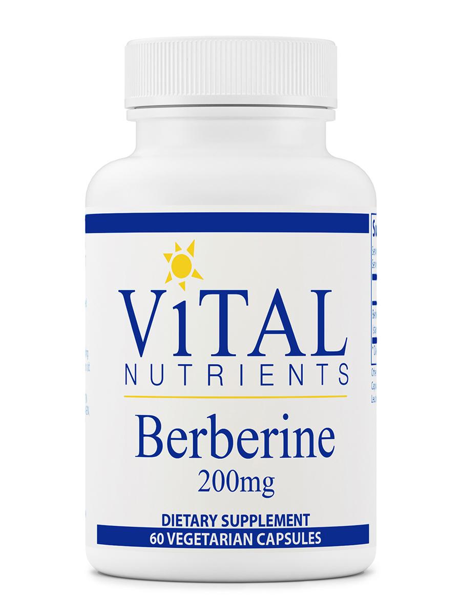 Berberine 200 mg - 60 Vegetarian Capsules