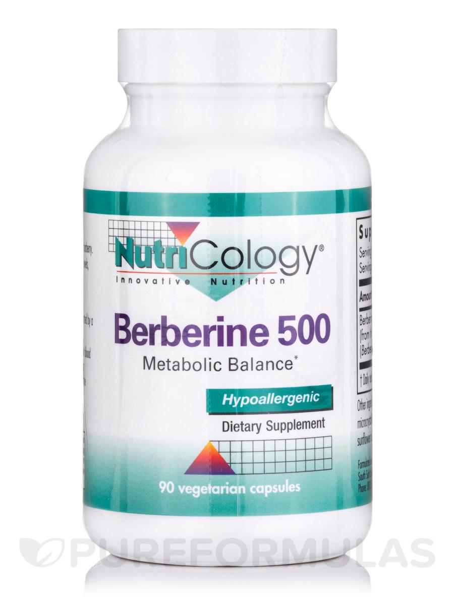 Berberine 500 - 90 Vegetarian Capsules