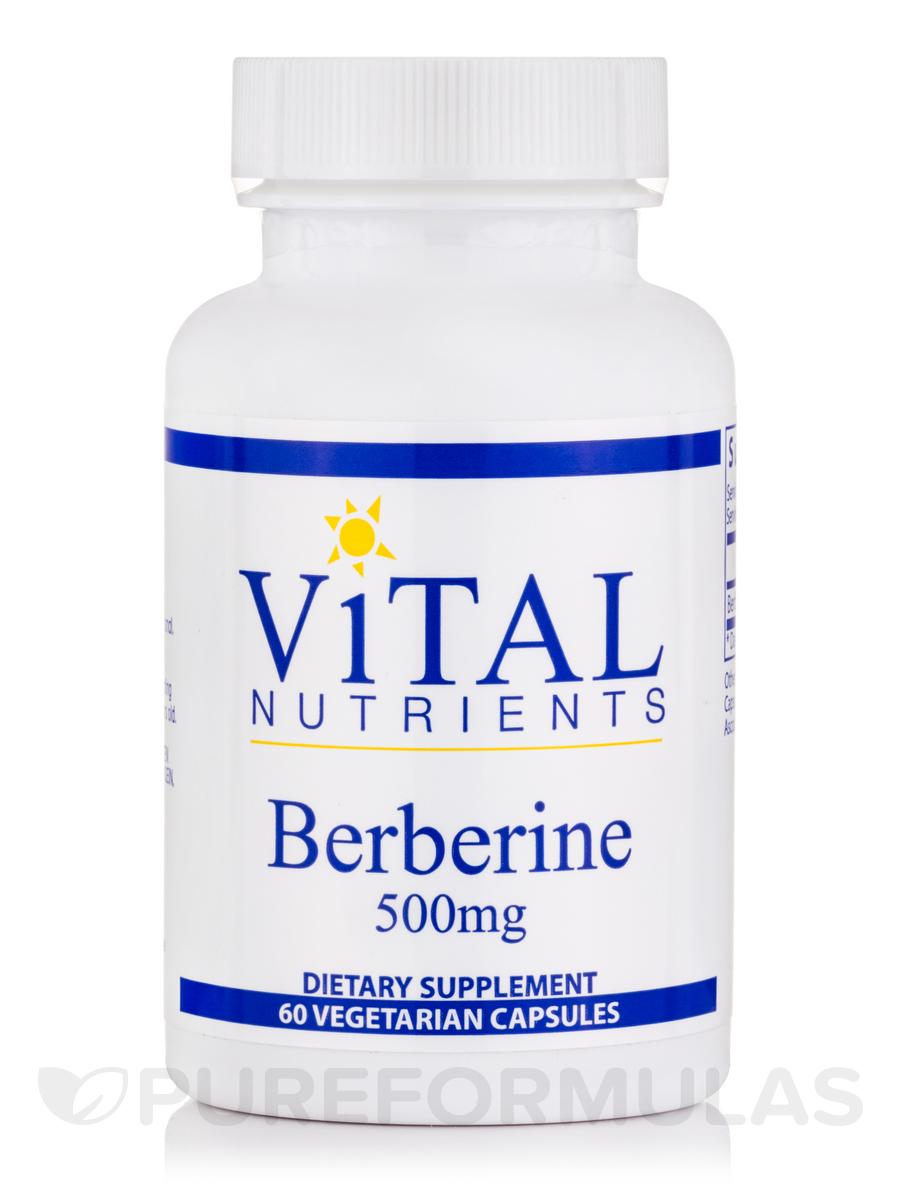 Berberine 500 mg - 60 Vegetarian Capsules