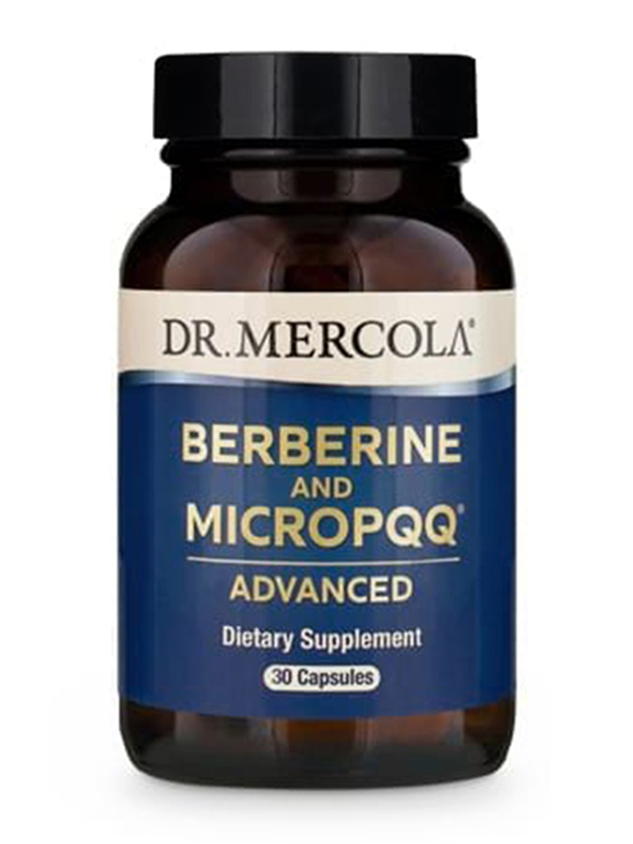 Berberine and MicroPQQ® Advanced - 30 Capsules