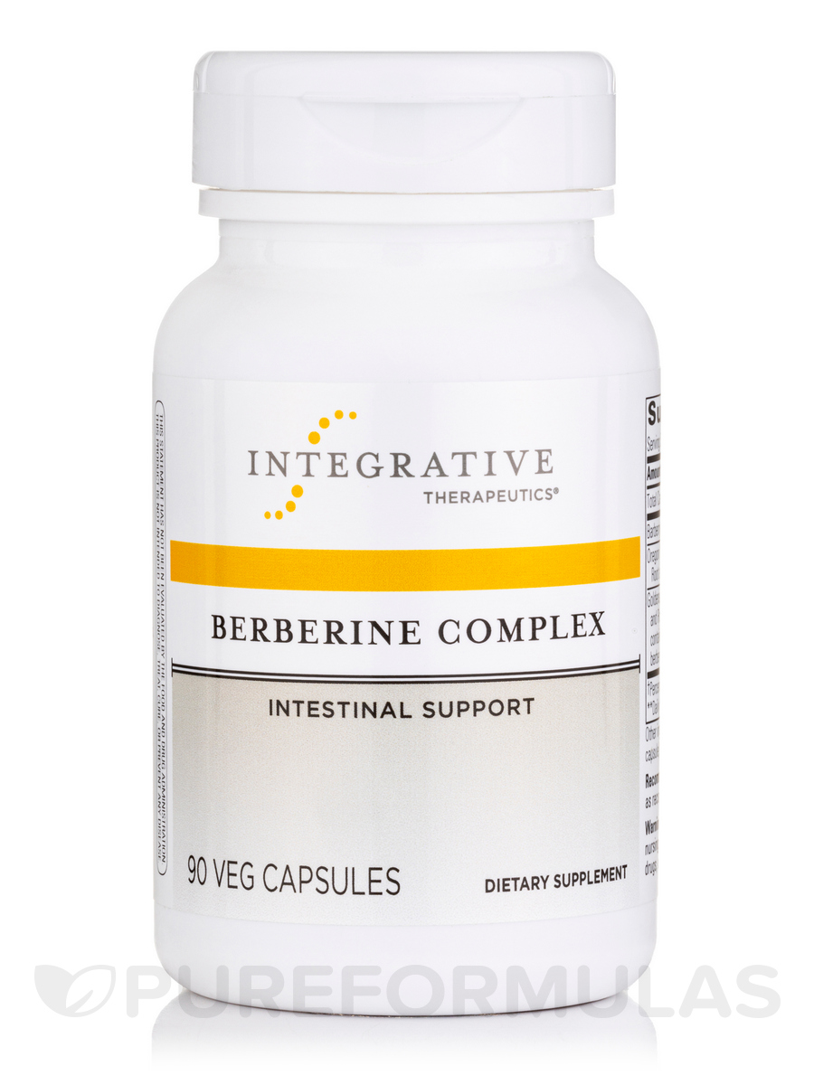 Berberine Complex - 90 Vegetarian Capsules