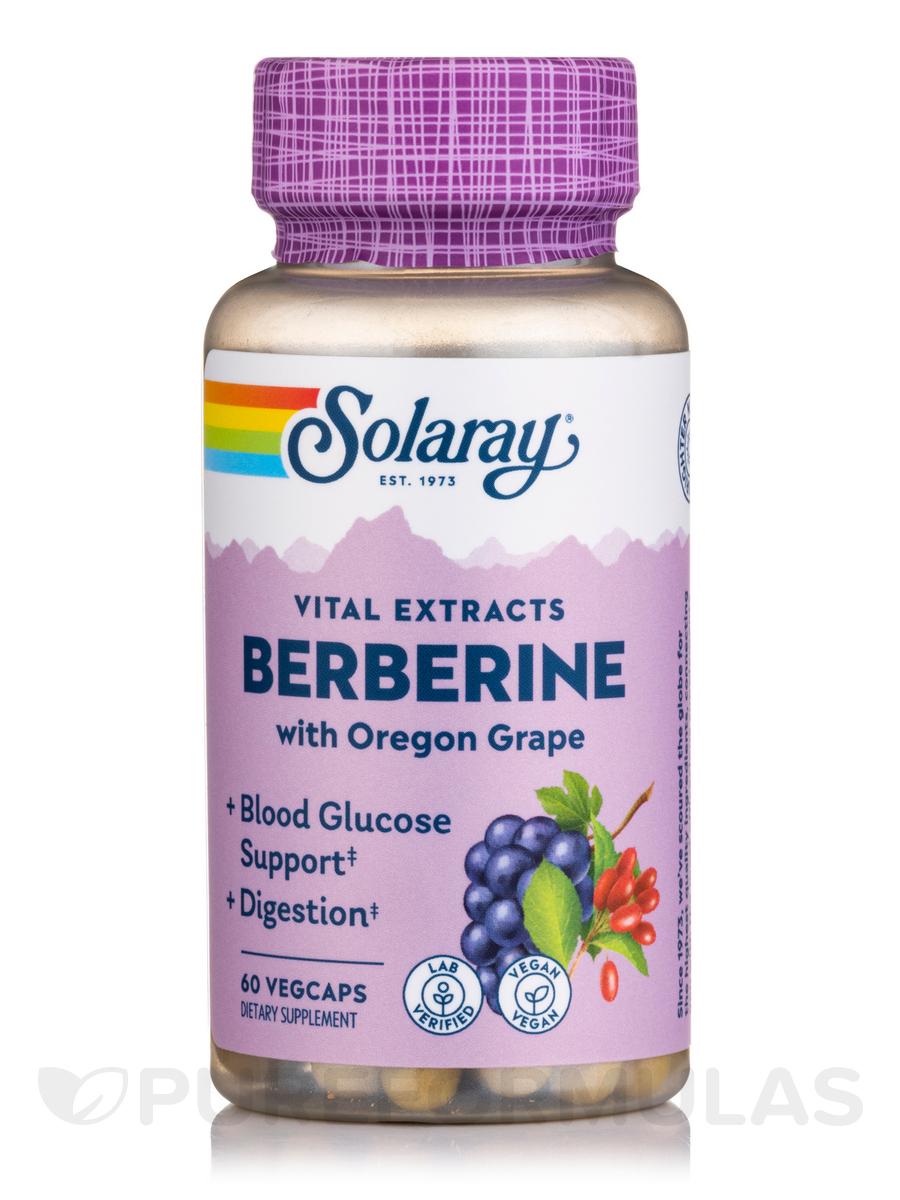 Berberine Root Extract, Advanced Formula - 60 VegCaps