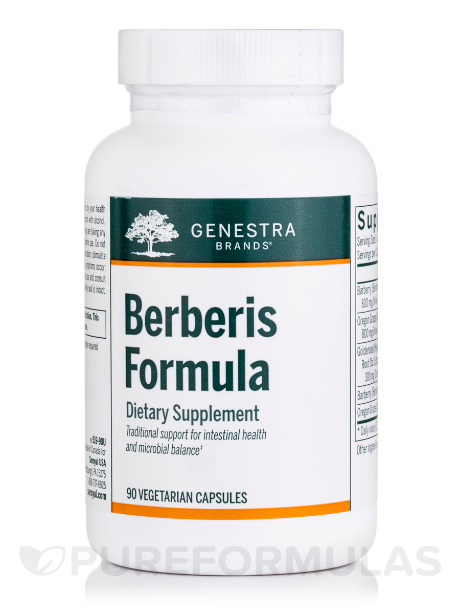 Berberis Formula - 90 Vegetable Capsules
