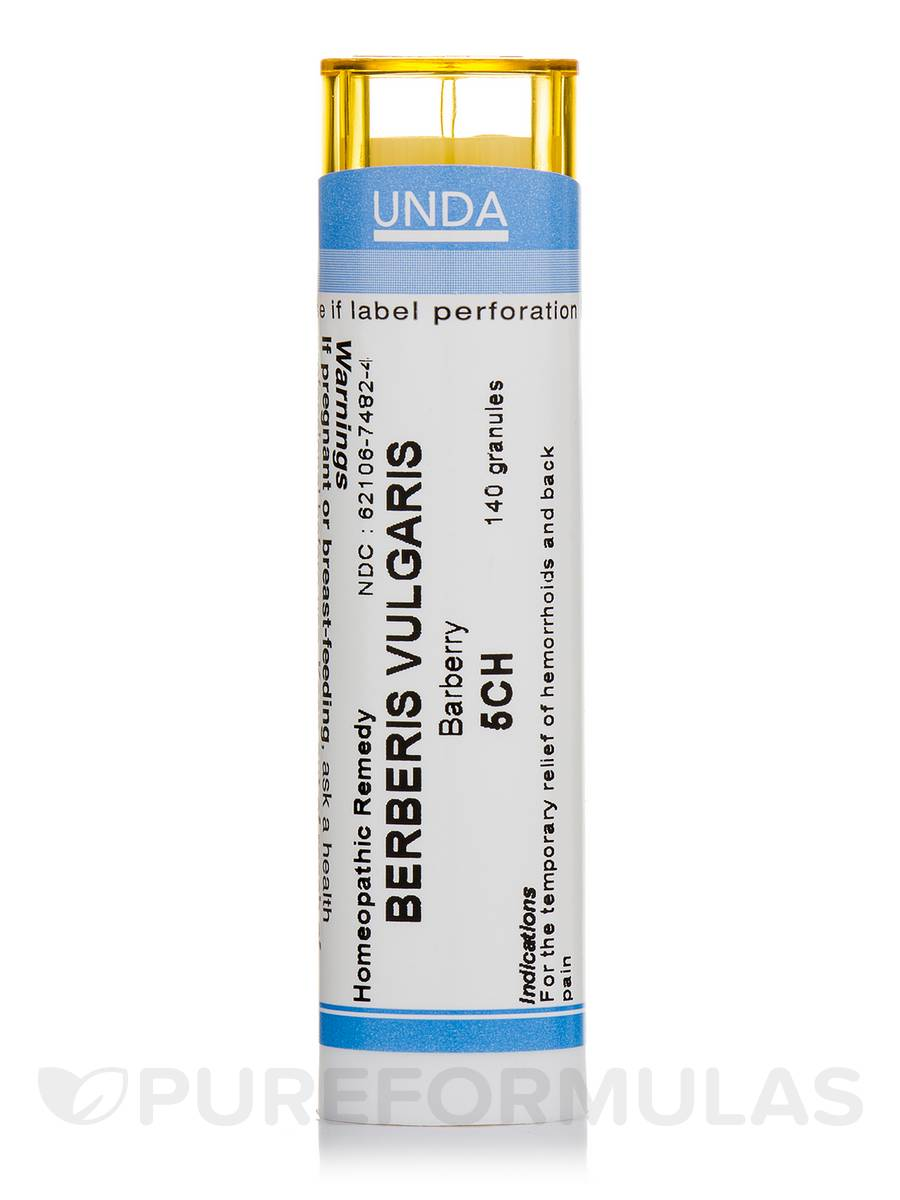 Berberis Vulgaris 5CH - 140 Granules (5.5g)