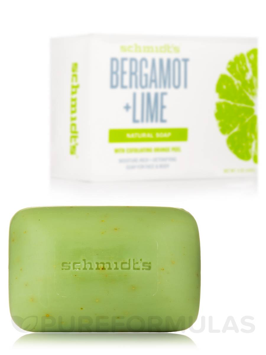 Bergamot + Lime Natural Soap - 5 oz (142 Grams)