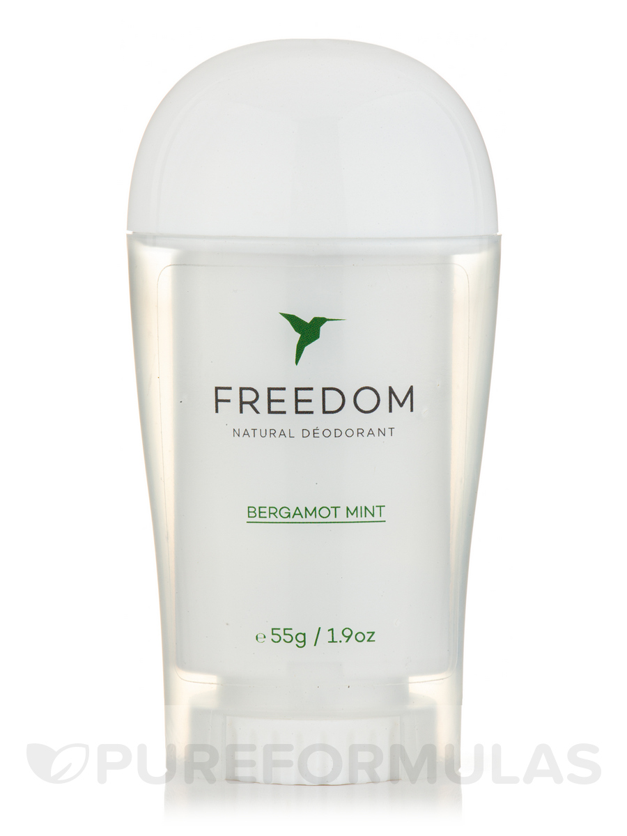 Natural Deodorant - Bergamot Mint - 1.9 oz (55 Grams)