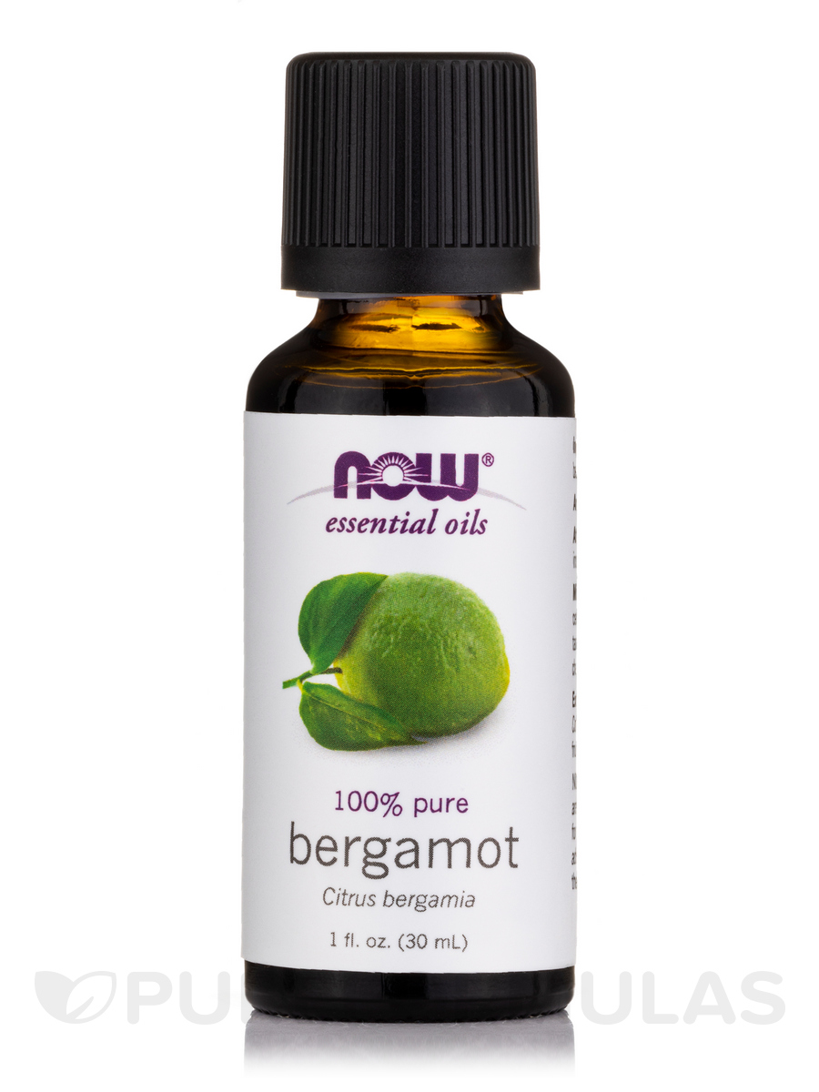 NOW® Essential Oils - Bergamot Oil - 1 fl. oz (30 ml)