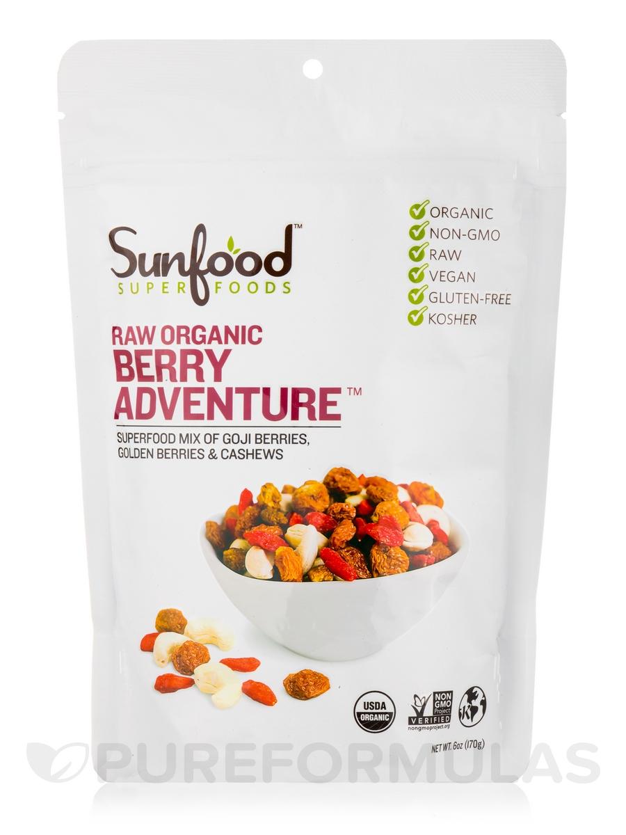 Berry Adventure, Organic, Raw - 6 oz (170 Grams)