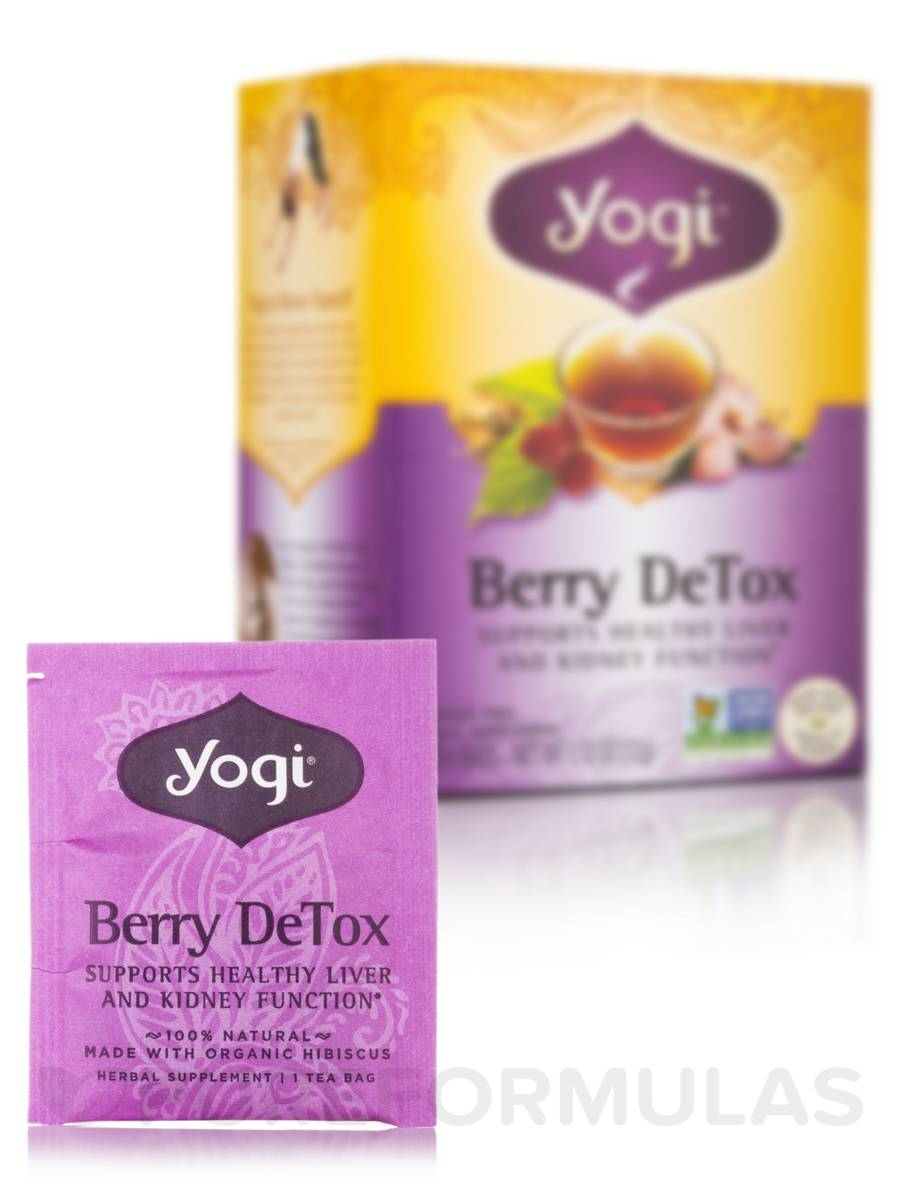 Berry DeTox Tea - 16 Tea Bags