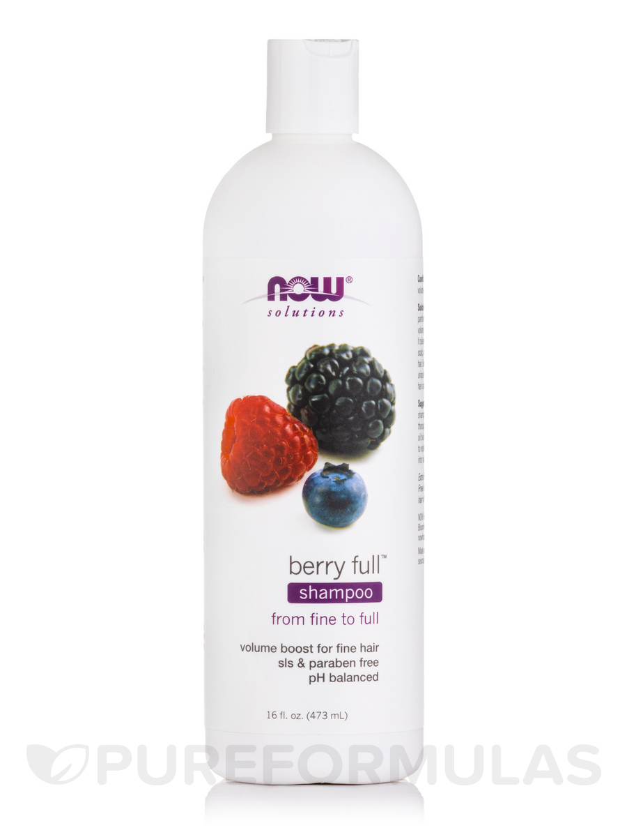 NOW® Solutions - Berry Full Shampoo - 16 fl. oz (473 ml)