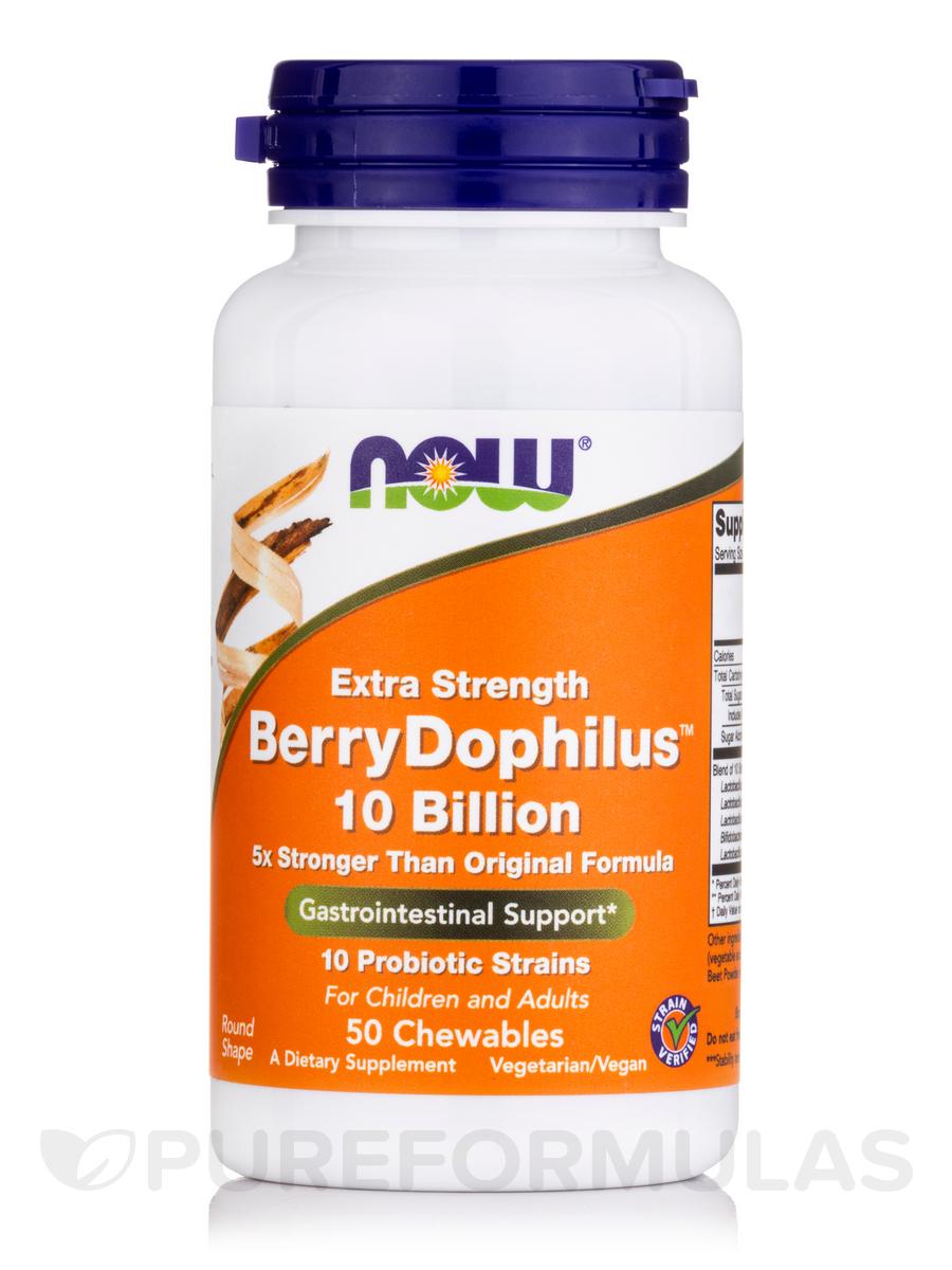 BerryDophilus™ 10 Billion (Natural Berry Flavor) - 50 Chewables
