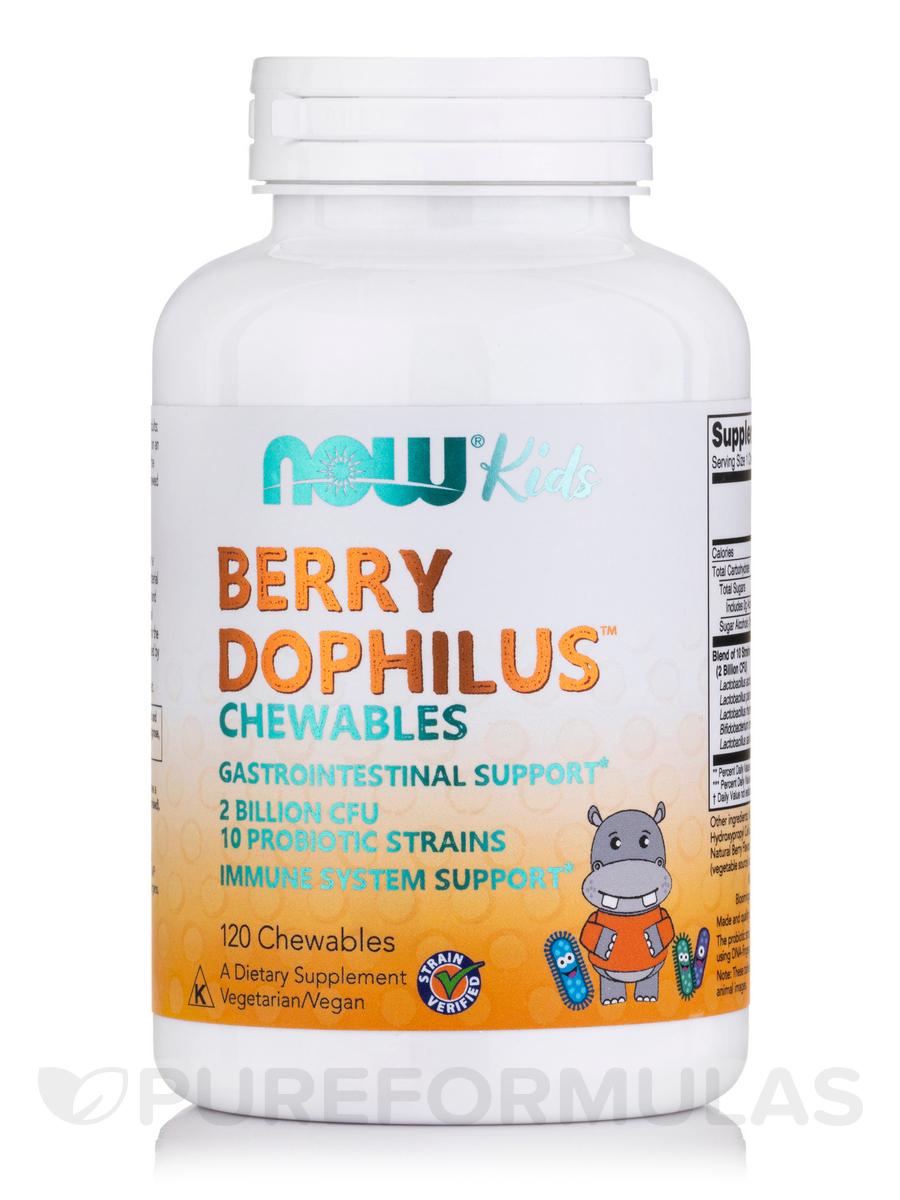 BerryDophilus™ Kids - 120 Chewables Tablets