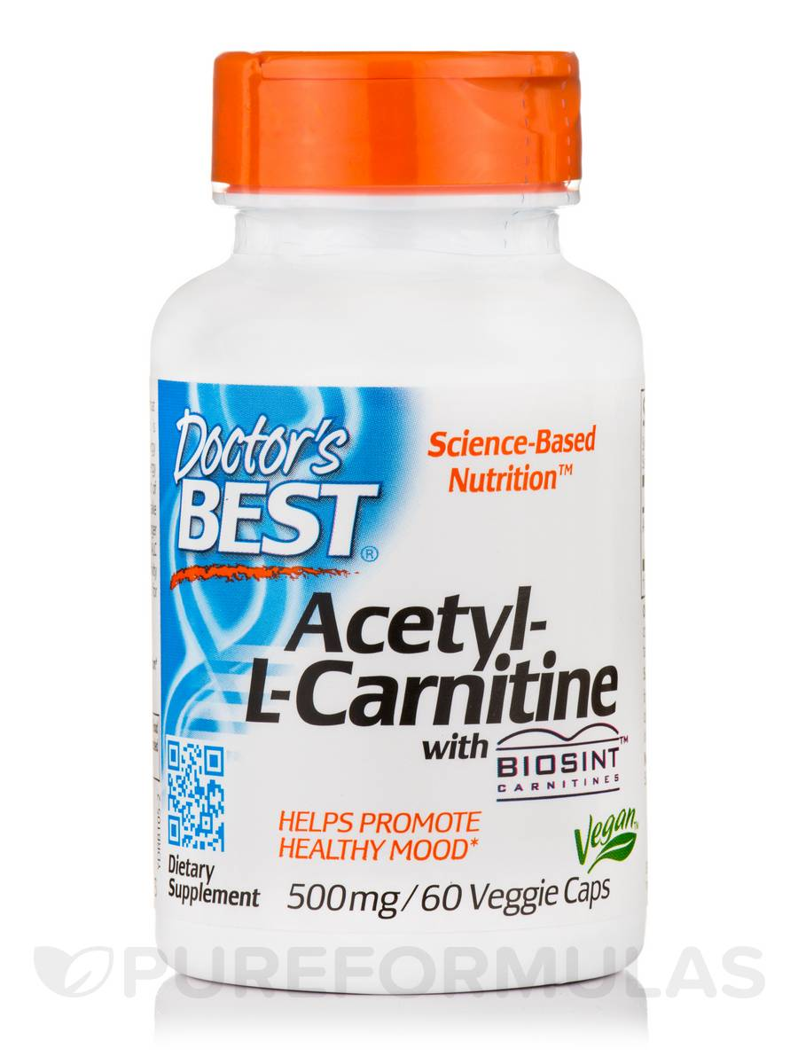 Best Acetyl L-Carnitine 588 mg - 60 Capsules