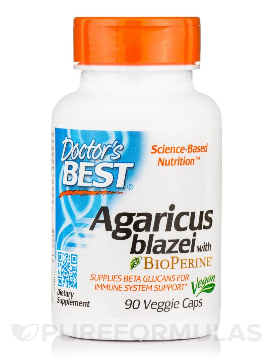 Agaricus blazei with BioPerine® - 90 Veggie Capsules