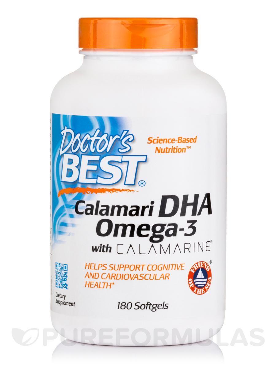 Calamari DHA 500 with Calamarine® - 180 Softgels