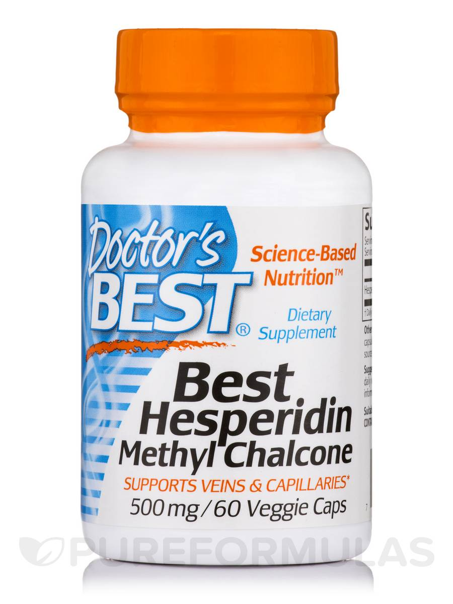 Best Hesperidin Methyl Chalcone 500 mg - 60 Veggie Capsules