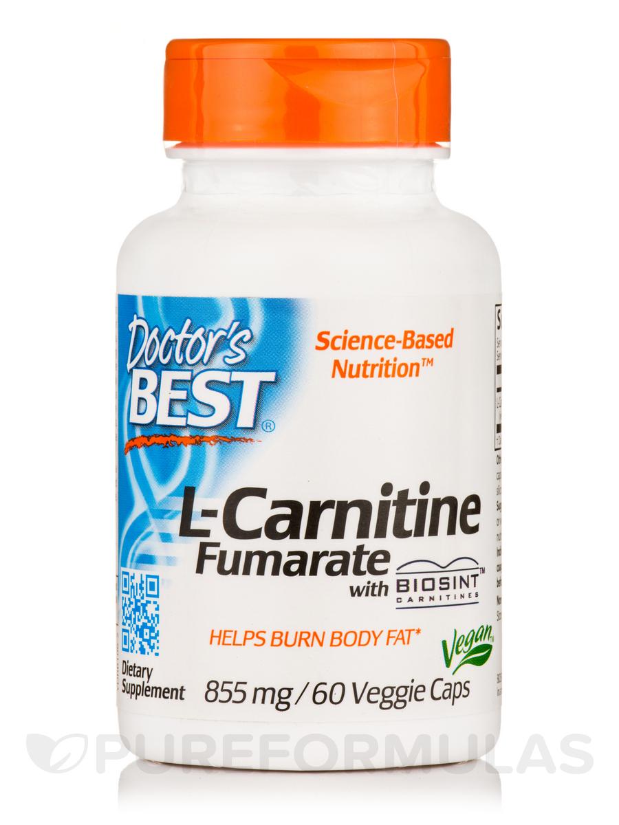Best L-Carnitine Fumarate 855 mg - 60 Veggie Capsules