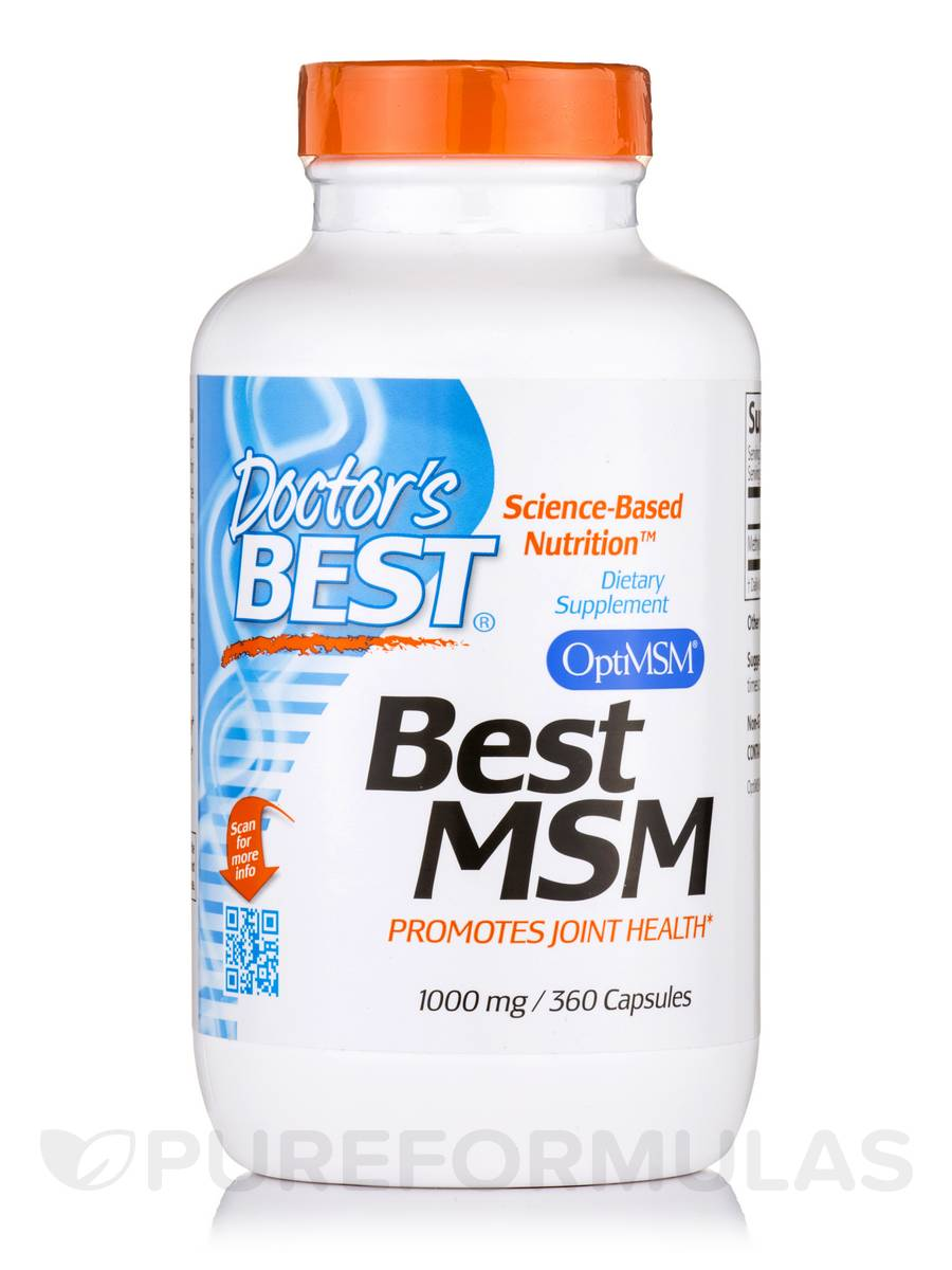 Best MSM 1000 mg - 360 Capsules