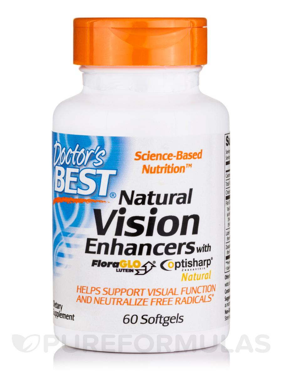 Best Natural Vision Enhancers - 60 Softgels