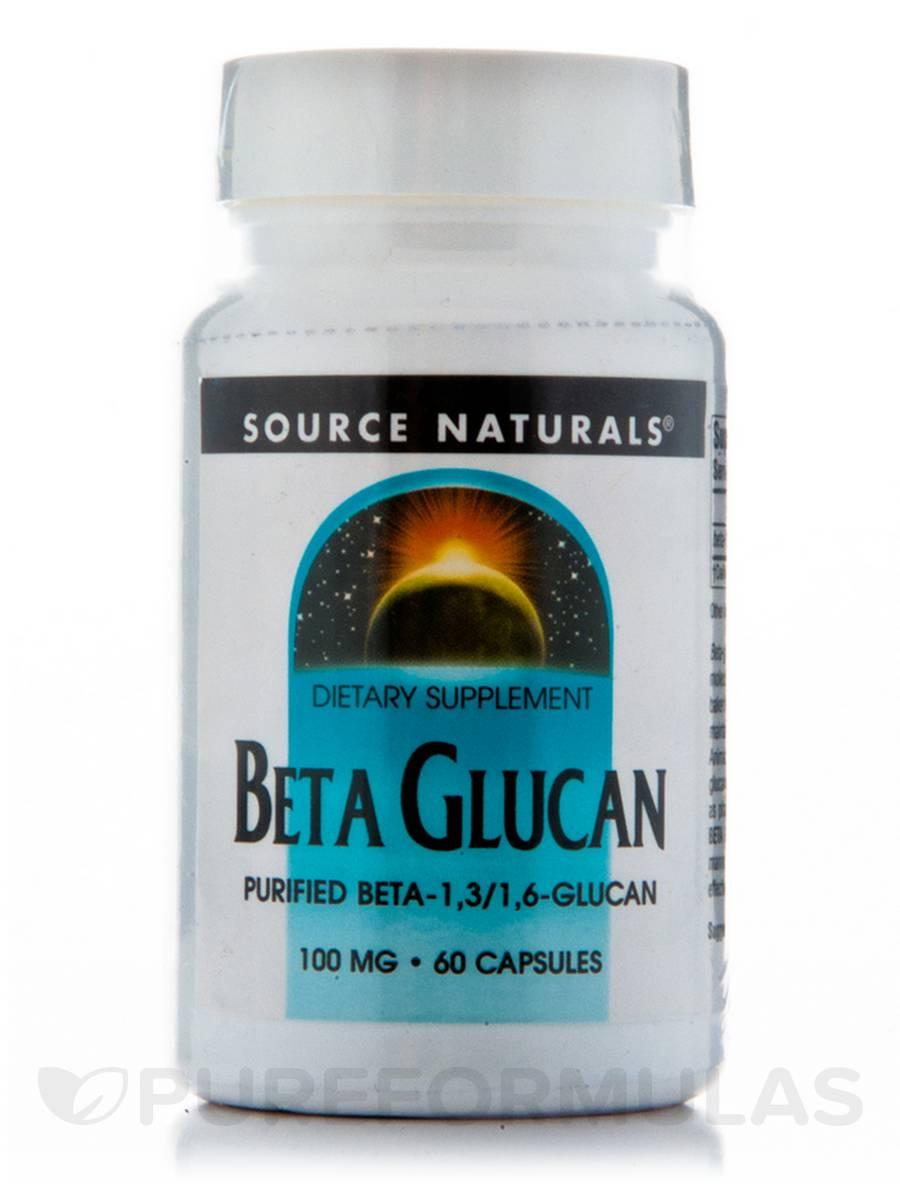 Beta Glucan 100 mg - 60 Capsules