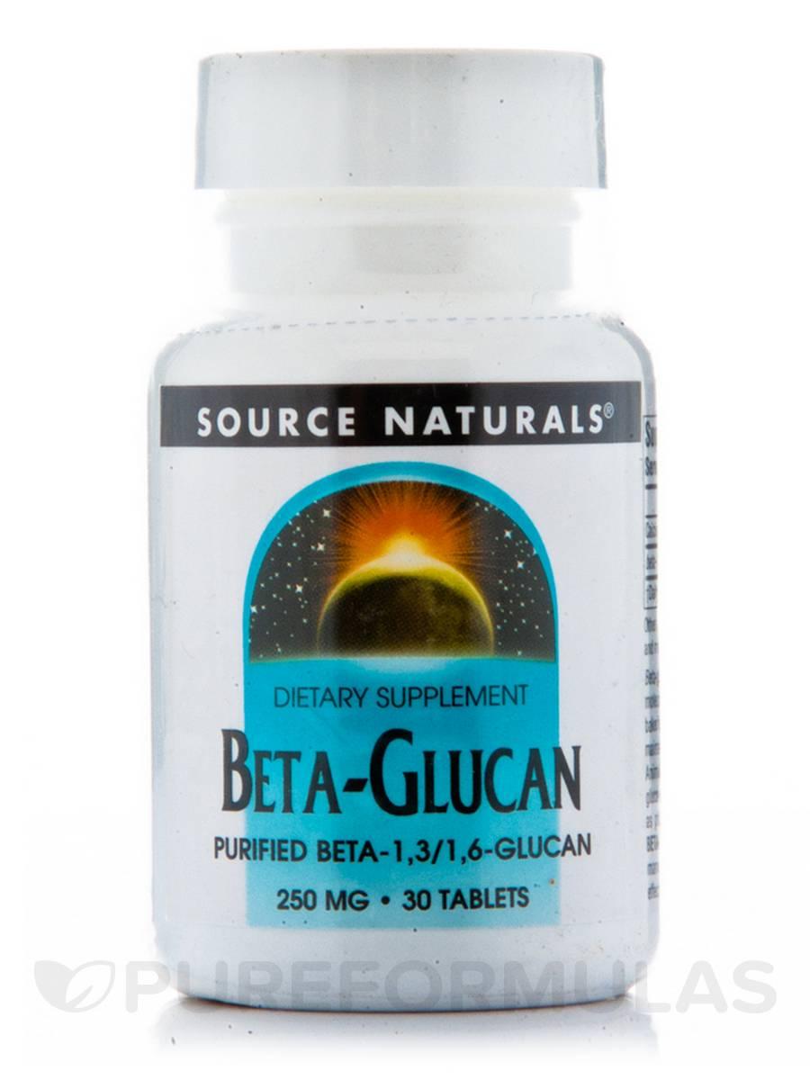 Beta Glucan 250 mg - 30 Tablets