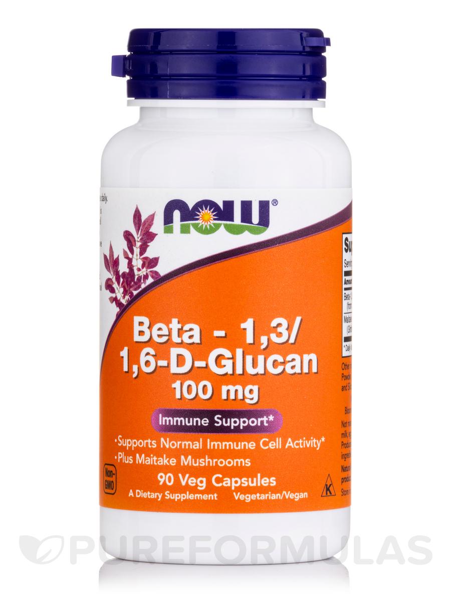 Beta-1,3/1,6 -D-Glucan 100 mg - 90 Vegetarian Capsules