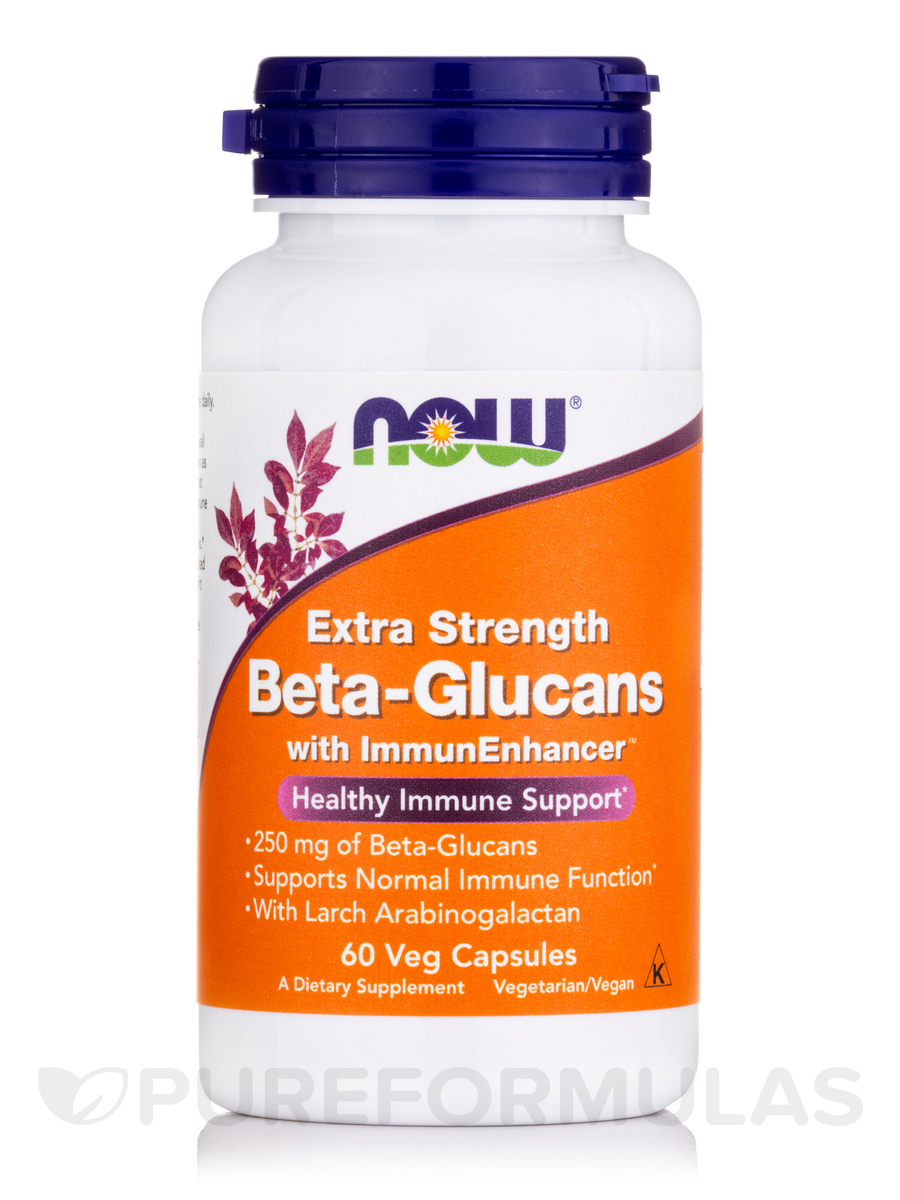 Beta-Glucans with ImmunEnhancer™ - 60 Veg Capsules