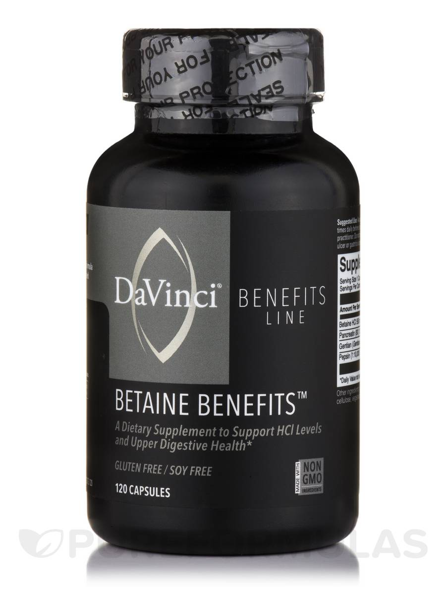 Betaine Benefits™ - 120 Capsules