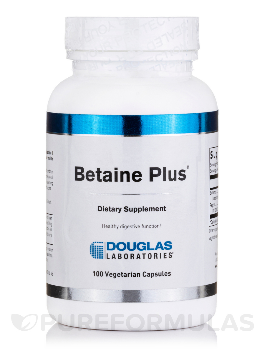 Betaine Plus - 100 Capsules