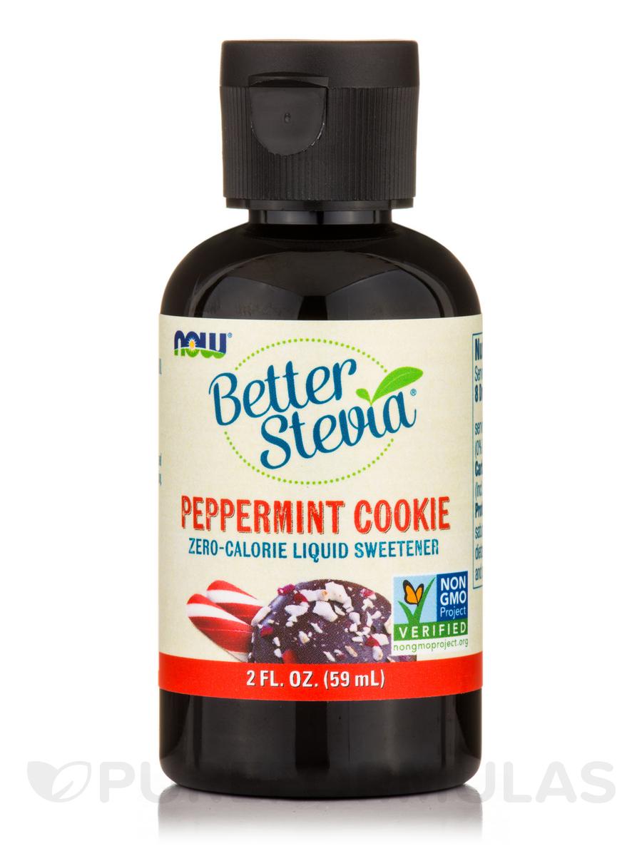 Better Stevia Liquid Sweetener, Peppermint Cookie - 2 fl. oz (59 ml)