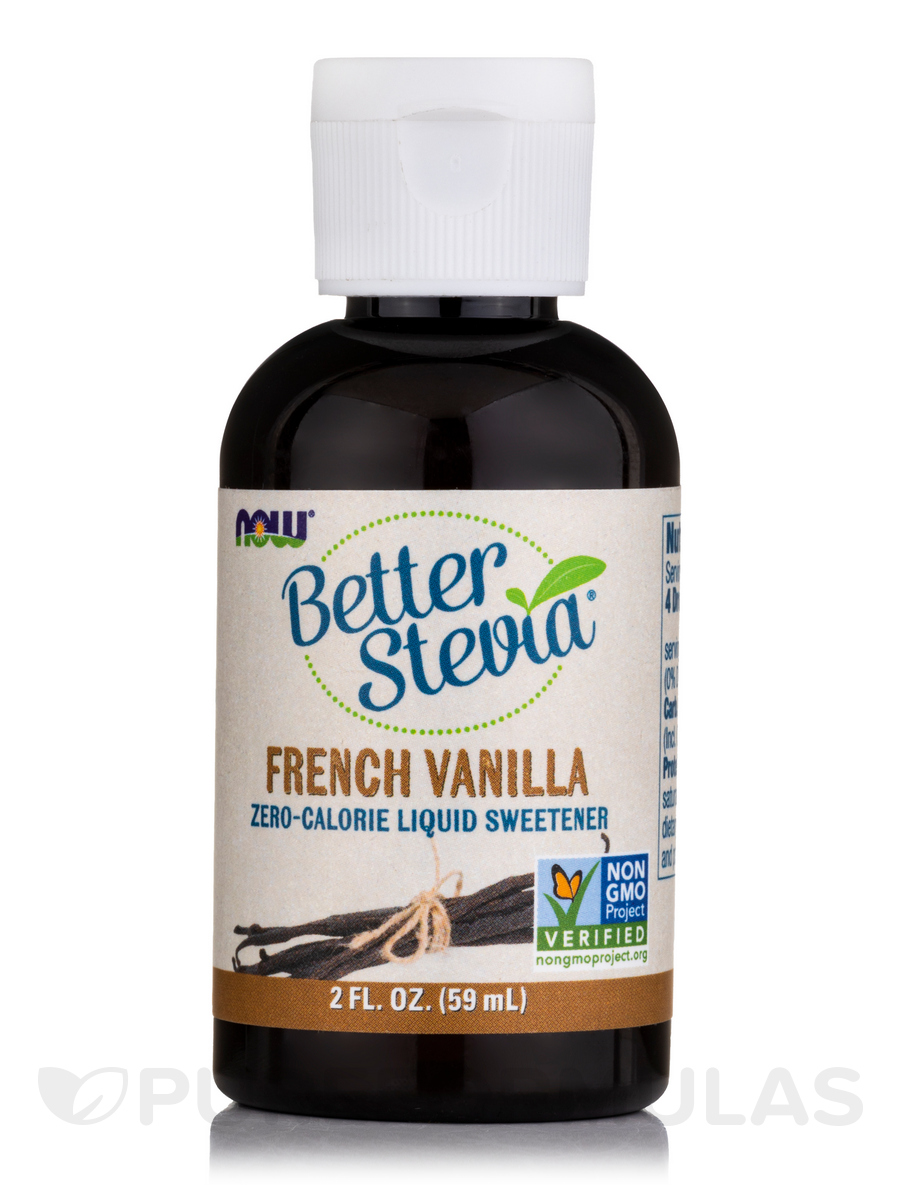 Better Stevia Liquid Sweetener, French Vanilla - 2 fl. oz (60 ml)