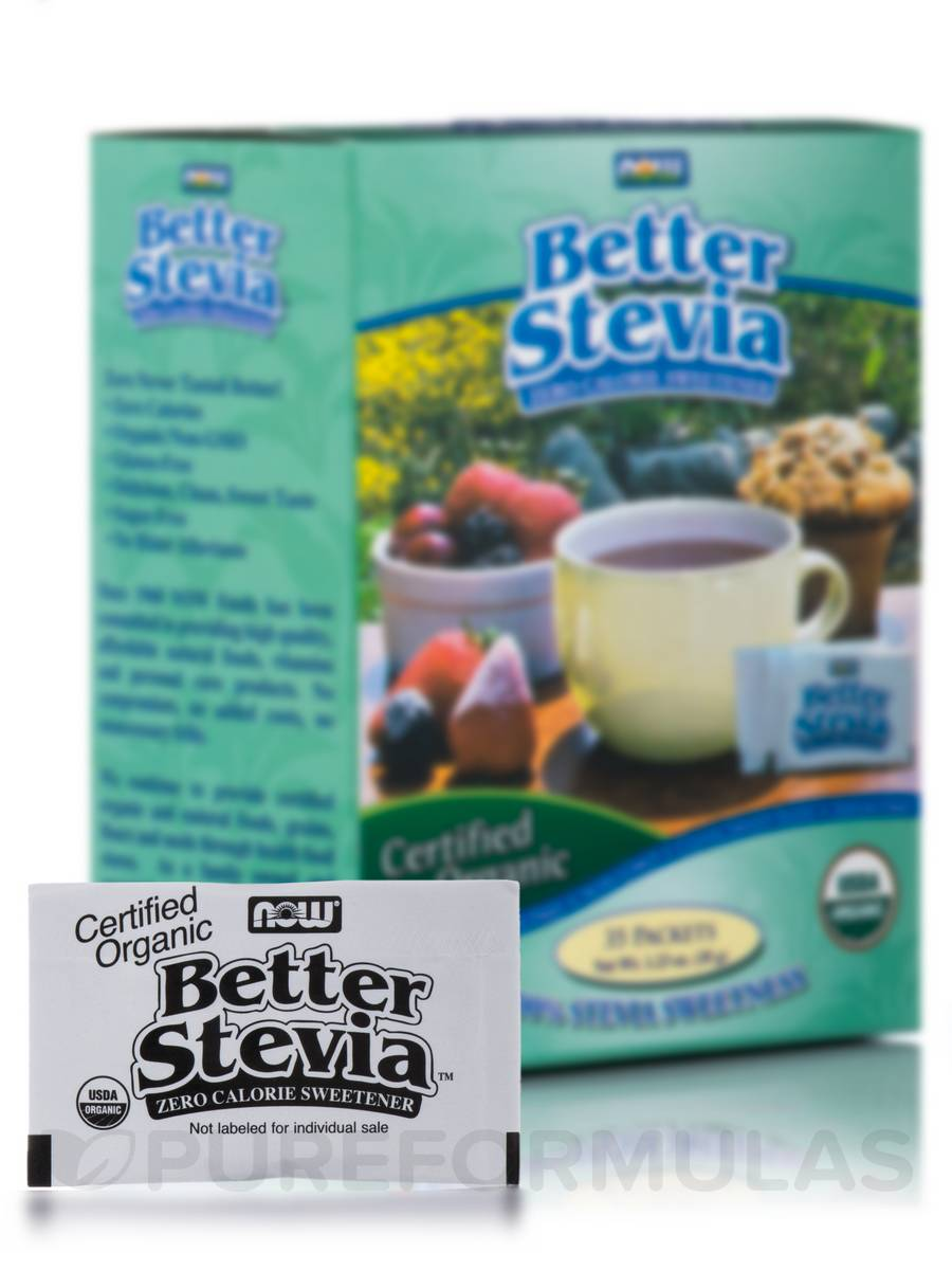 Better Stevia™ Extract Packets, Organic - Box of 35 Packets