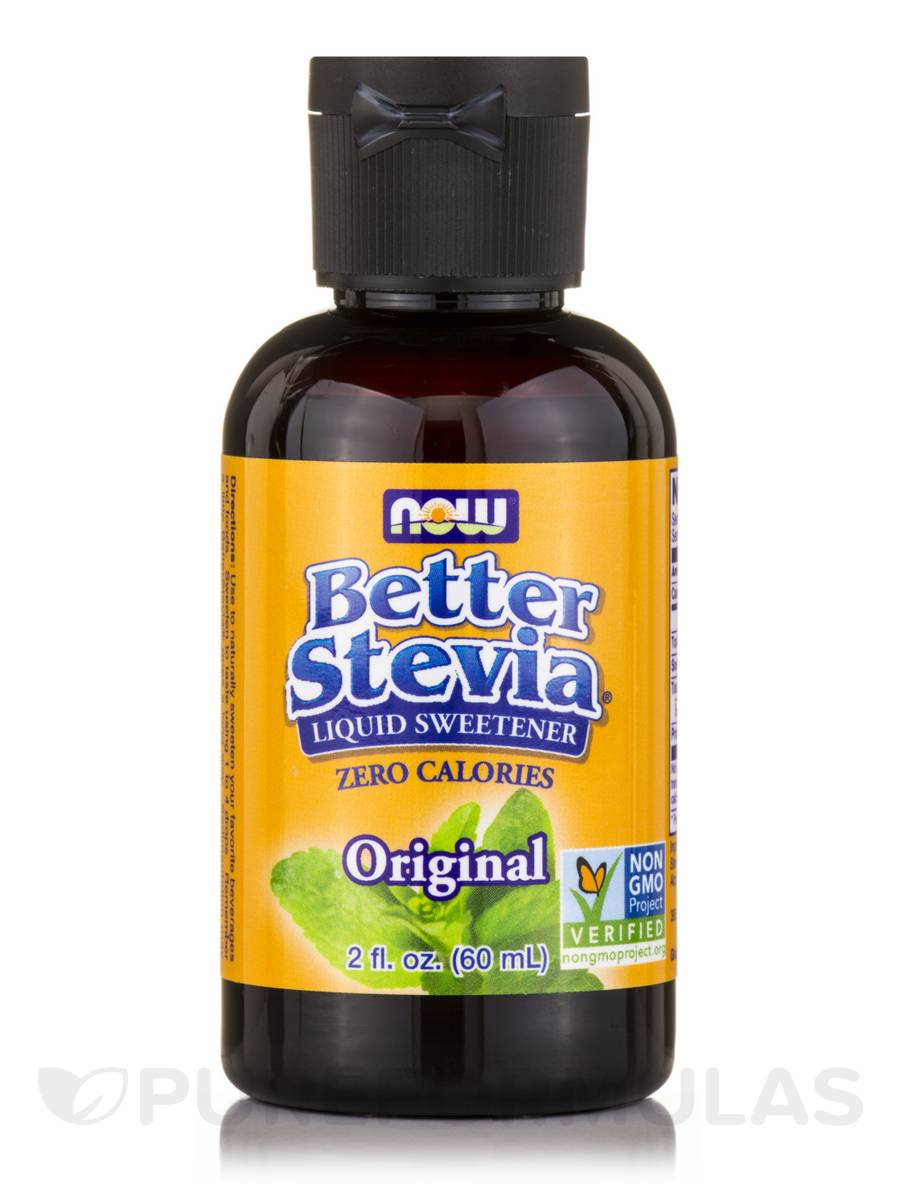 Better Stevia Liquid Sweetener, Original - 2 fl. oz (60 ml)